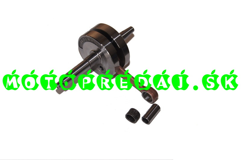 Kľukovka s piestnym čapom a ložiskom BAB 210 (vysoká kvalita)