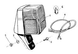 Zadná lampa