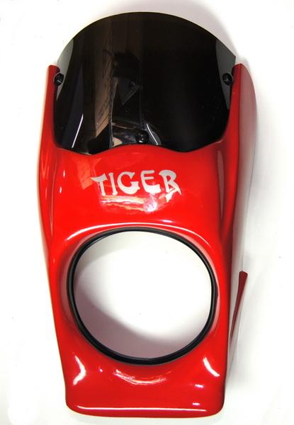 Predná maska Simson (červená,čierna)