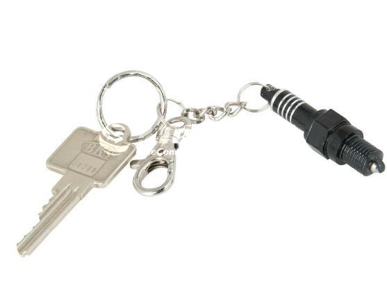 Moto kľúčenka v tvare SVIEČKY