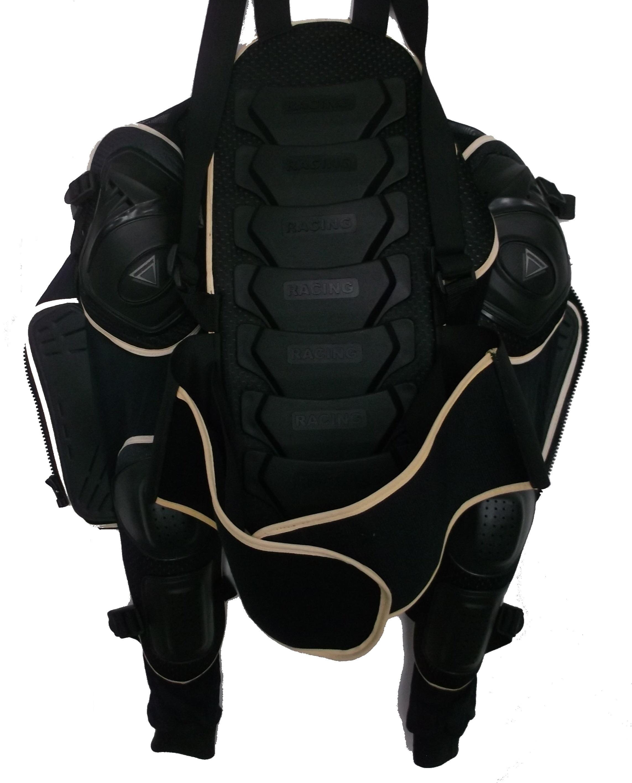 RACING Chránič chrbta, lakťov, ramien a hrudníka (korytnačka)