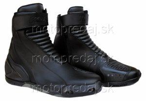 Moto topánky Kore Short Šport čierne