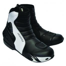 Topánky na motorku Ozone Urban čierno-biele