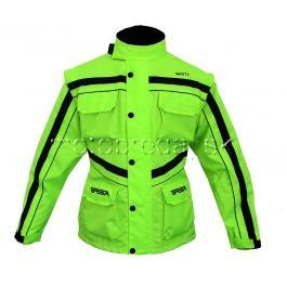Bunda na motorku RSA Safety zelená