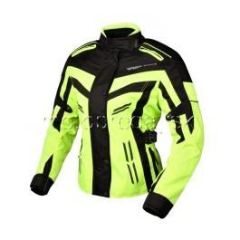 Dámska bunda na motorku RSA MOON fluo