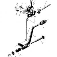 Nožné zasúvanie prevodových stupňov