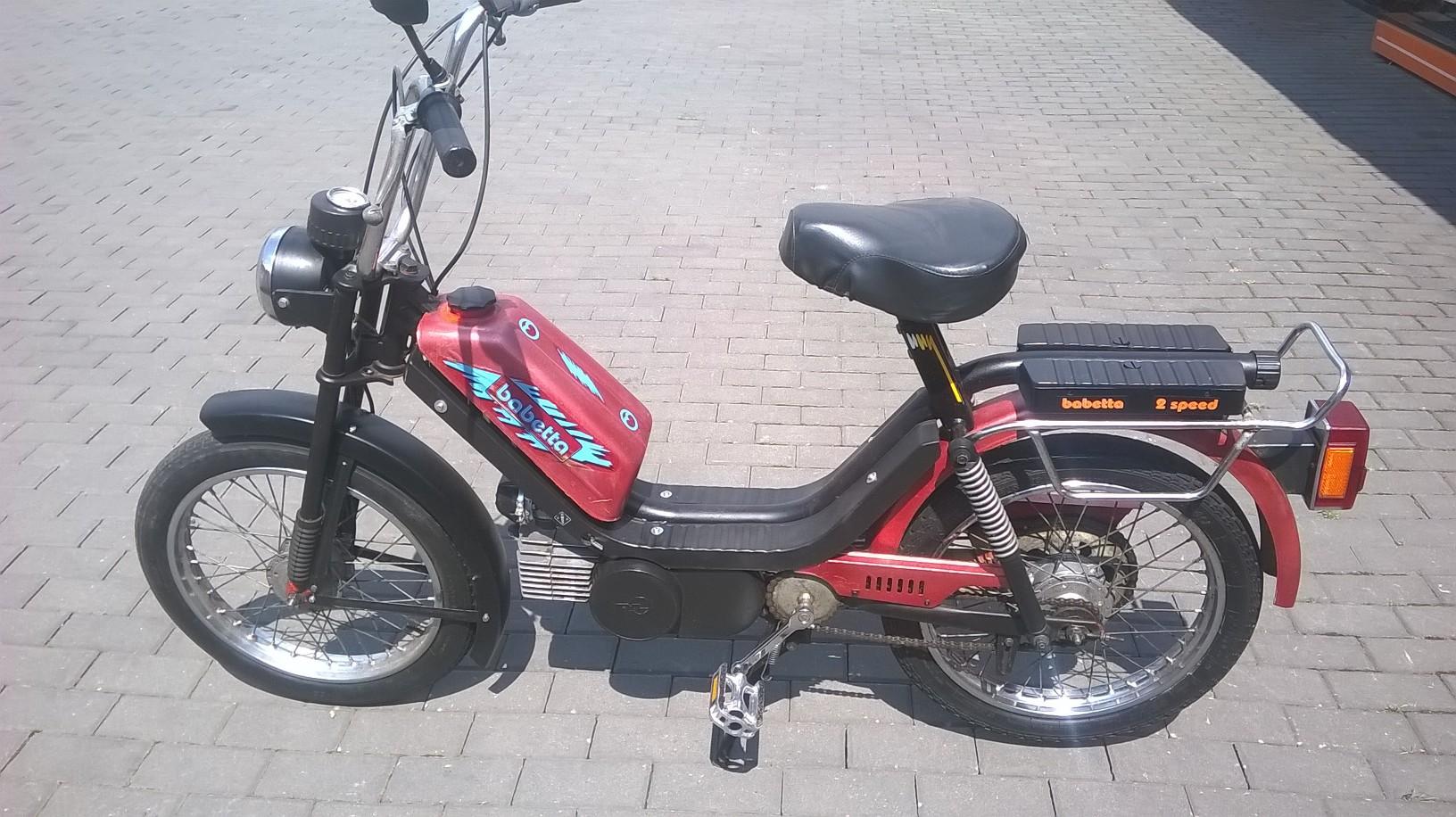Babetta 210 (predaná)