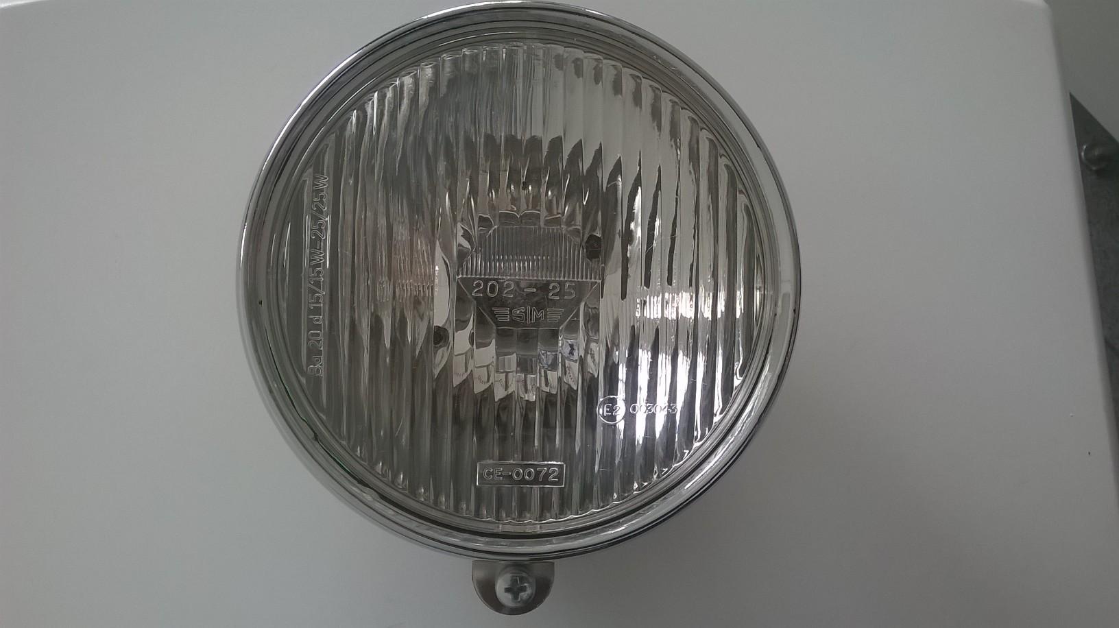 Predná lampa 210- náhrada
